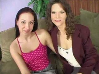 Sexy Mother And Hot Daughter Fucking Together.