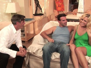 real housewife facialized during a threesome