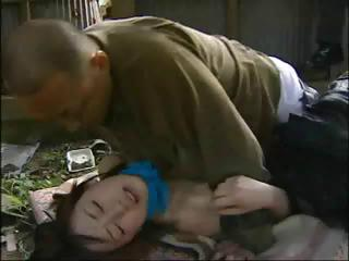 Porn Tube of Japanese Love Story With This Little Teen Nailed By Older Guy