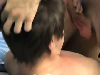 Young gay males with shaved pubic hair He face penetrates Ti