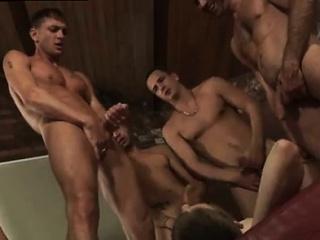 free extreme gay gangbang videos free james takes his cum sh