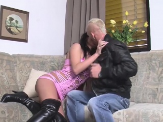 german wife enjoys an awesome hardcore pounding