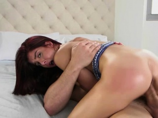 vanessa gulps her boyfriends huge dick