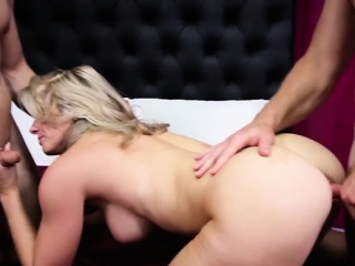 big tits milf punish with cumshot