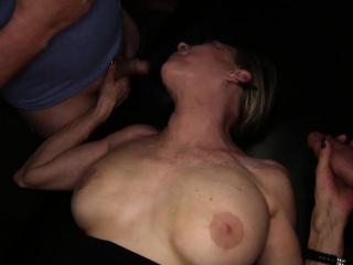 Русское домашнее групповое ретро порно