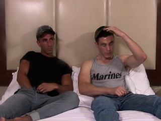 hot army dudes jake greey and johnny hardcore barebacking
