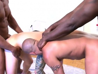 black hunks join caught cocksucking studs