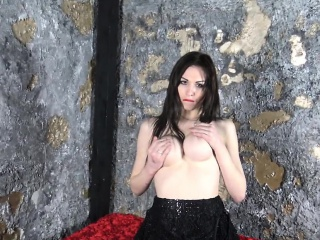 masturbating russian ts fingers her asshole
