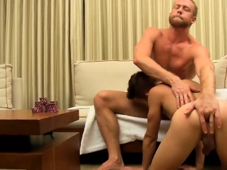 andy taylor receives a massive cock in his tight butthole