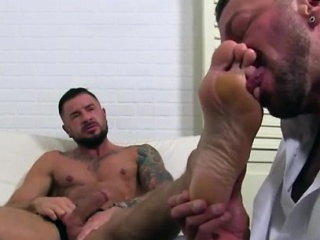 gay male feet porno dolf's foot doctor hugh hunter