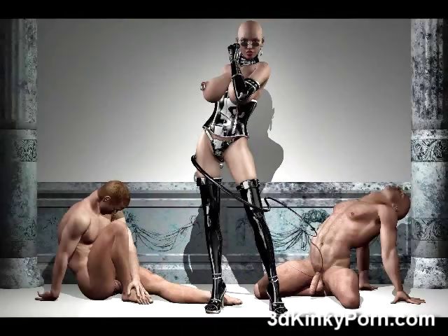 Porno Video of 3d Mistresses And Slave Girls!