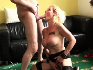 british sub milf bouncing ontop maledoms cock