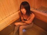 subtitled defiled japanese schoolgirl takes a bath