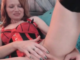 redhead milf show you how wants to take in