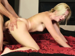 massaged babe fooled jizz