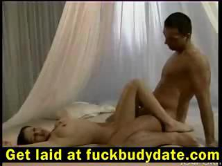 Sex Movie of After A Short Bit Of Foreplay, This Hot Young Couple Make Love Passionately