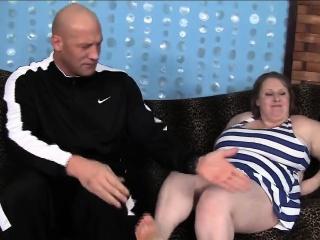 Sideways fucking brunette bbw Sapphire big dick
