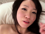 shy tiny japanese toying pussy with dildo
