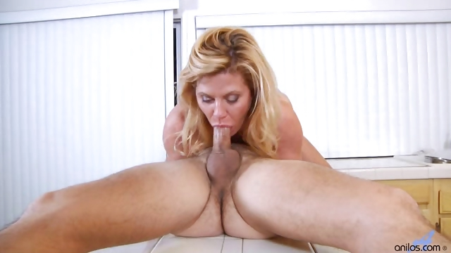 Sex Movie of Hardcore Housewife Rides Cock In Kitchen