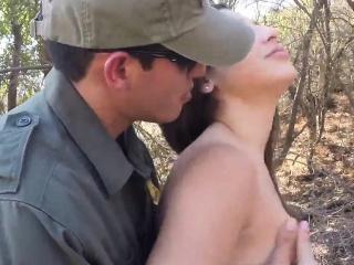fake police women and james deen punishment cop latina deept