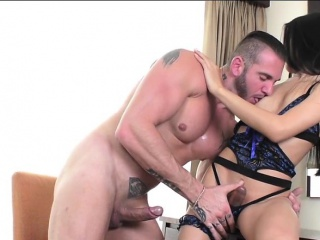 Asian shemale Fany gives head and anal rides on a guys cock