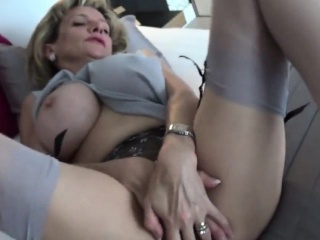 cheating british mature gill ellis shows her gigantic boobs