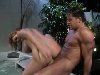 curves seduces a stud for hot tub fuck