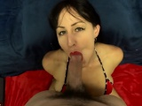 large dick eyecontact cosmetic and bj
