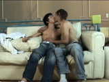 sweet gay boys close the book and start kissing
