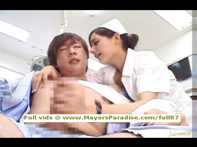 Porno Video of Rio Innocent Asian Nurse Enjoys Doing Handjob
