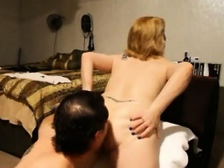 blonde milf having analsex together with her fan
