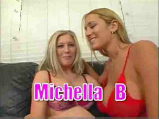 Porn Tube of Trina Michaels And Michelle B Make Guy Cum On Ears