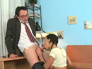 depraved from behind pounding from horny older teacher