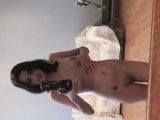 stunning girl records herself while being nude