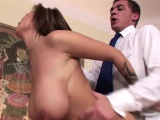 curvy brunette hottie dominno gets fucked hard