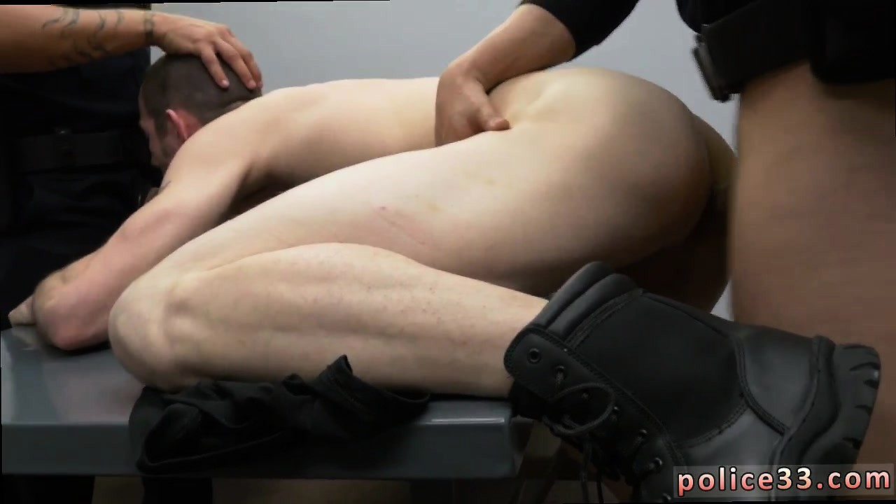 Police gay porn video story xxx first time Two daddies are b