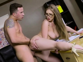 horny blonde lena paul final sucking dick exam