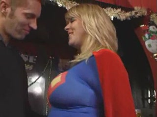 Porn Tube of Supergirl Gives Supersex