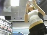 upskirt 2 teen sluts in retail center