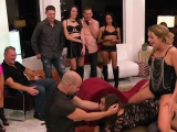 massive swingers orgy in a kinky reality show