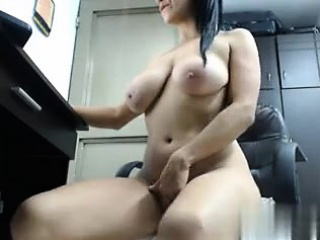 jiggling breasts on cam - our fuck at cheat-satisfy