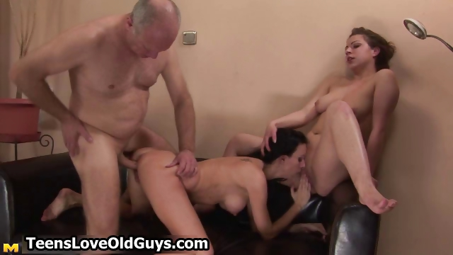 Sex Movie of Sixty Years Old Man Fucking A Tight Part2