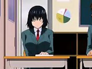 cute hentai school babe seducing her horny sexy teacher