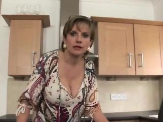unfaithful british mature gill ellis flaunts her massive jug