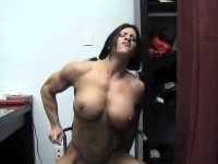 Muscular Angela Salvagno Fucks A dildo Angela Salvagno | Porn-Update.com