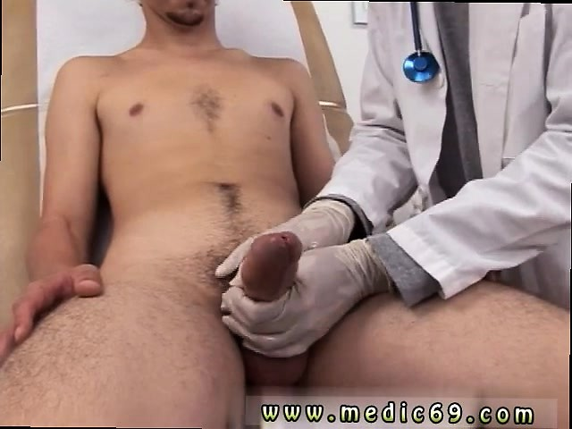 Gay men muscle twink doctor and mens penis physical exam vid