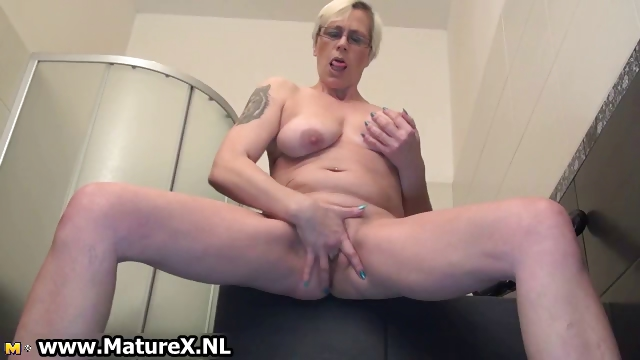Porno Video of Slutty Mature Woman Pulls Her Thong Part6