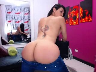 big tits and big ass tranny solo
