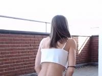Dirty Amateur Chick Puts On A lascivious Webcam Tease | Porn-Update.com