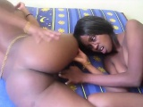 bootylicious sista gets pleased by horny african gf